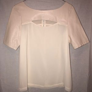 Like new small white blouse